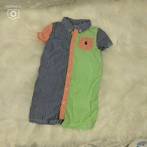 Ralph Lauren Size 24Months Blue Green Orange Short